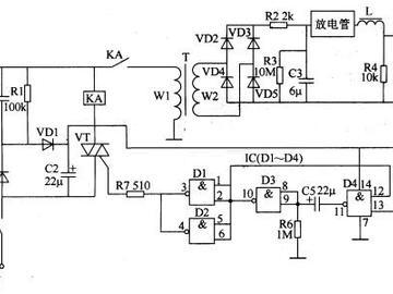工业用电子点火器电路