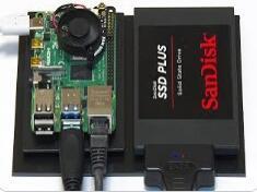 树莓派4B搭建NAS的教程指导:包括硬件选择、软件安装配置