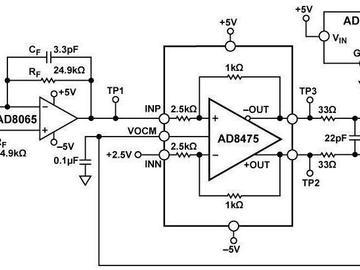 高速光电二极管信号调理电路
