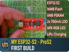智能家居最佳方案伴侣-基于ESP32-S2的ProS2开发板PCB设计