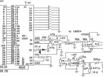 存储器的原理电路图