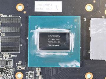 影驰GTX 1660 SUPER拆解:证实已升级GDDR6显存