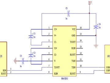 SPCE061A单片机与指纹识别模块的接口电路解析