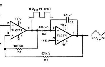 单电源供电的信号发生器电路解析