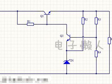 稳压带放大环节电路设计