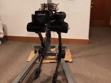 2019 Hackaday Prize参赛作品-黑鸟双足机器人