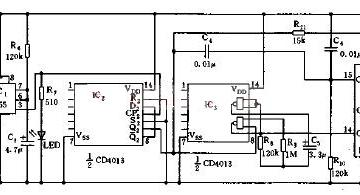 用于工业的机械手的简易电路原理图