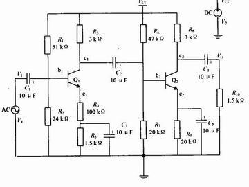 負反饋放大經典電路分析