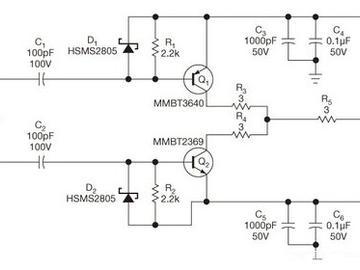 基于晶体管的一款快速的电平转换电路图