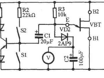 实用一款单节晶体管性能测试电路