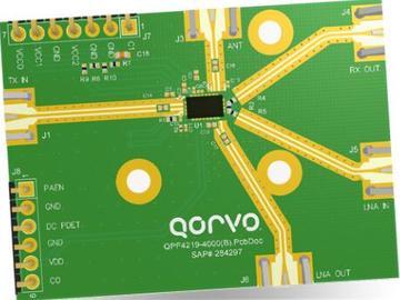 评估QPF4219集成前端模块-Qorvo QPF4219EVB01评估板