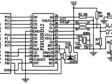 USB通信电路