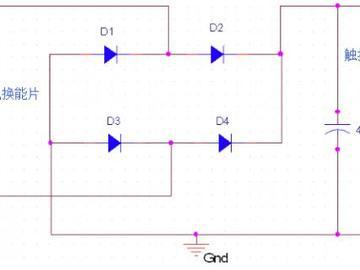 压电换能器电路原理图设计