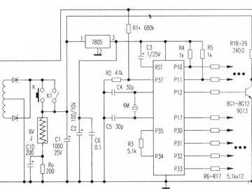 采用AT89C2051开发的彩灯控制电路