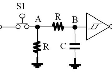 单片机的按键消抖与几种按键电路