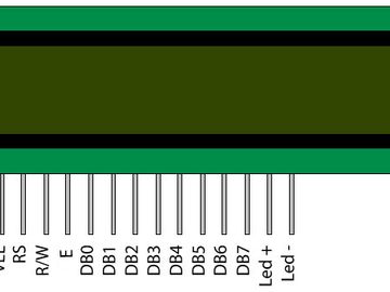 Mojo v3 FPGA板与16×2液晶显示模块的接口