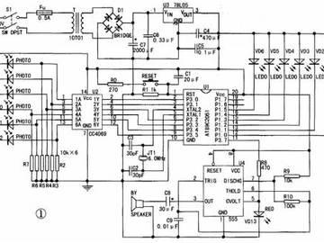 红外线报警器电路设计方案