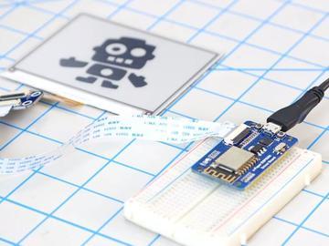 低功耗可穿戴设备必掌握电路方案-在esp8266开发板上实现电子纸显示