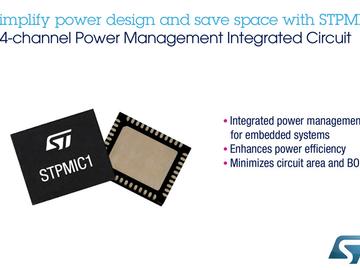 不满足现状,彻底解决pcb设计问题,意法半导体打造基于STM32MP1高集成度电源管理电路方案