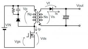 反激式转换器的工作和缓冲在开关电源中起到什么作用?