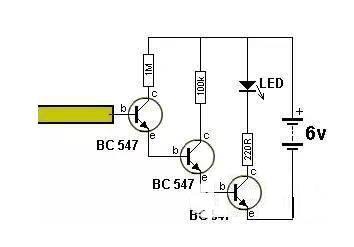 实用收藏三个最简单的三极管放大电路