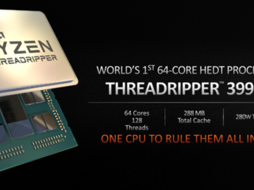 AMD营销人员发愁64核锐龙Threadripper 3990X基准测试找不到对手